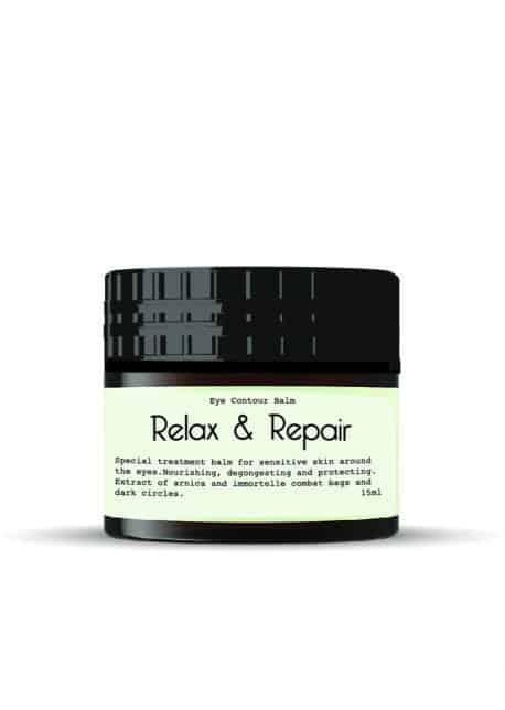 Relax & biologische oogcrème - Repair Eye Contour Balm -