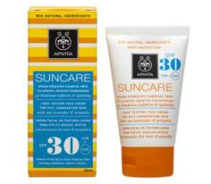 zonnecreme spf 30 gecombineerde - vette huid