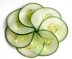 komkommer tarwekiemolie masker