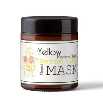 yellow montmorolinite mask geel kleimasker detox