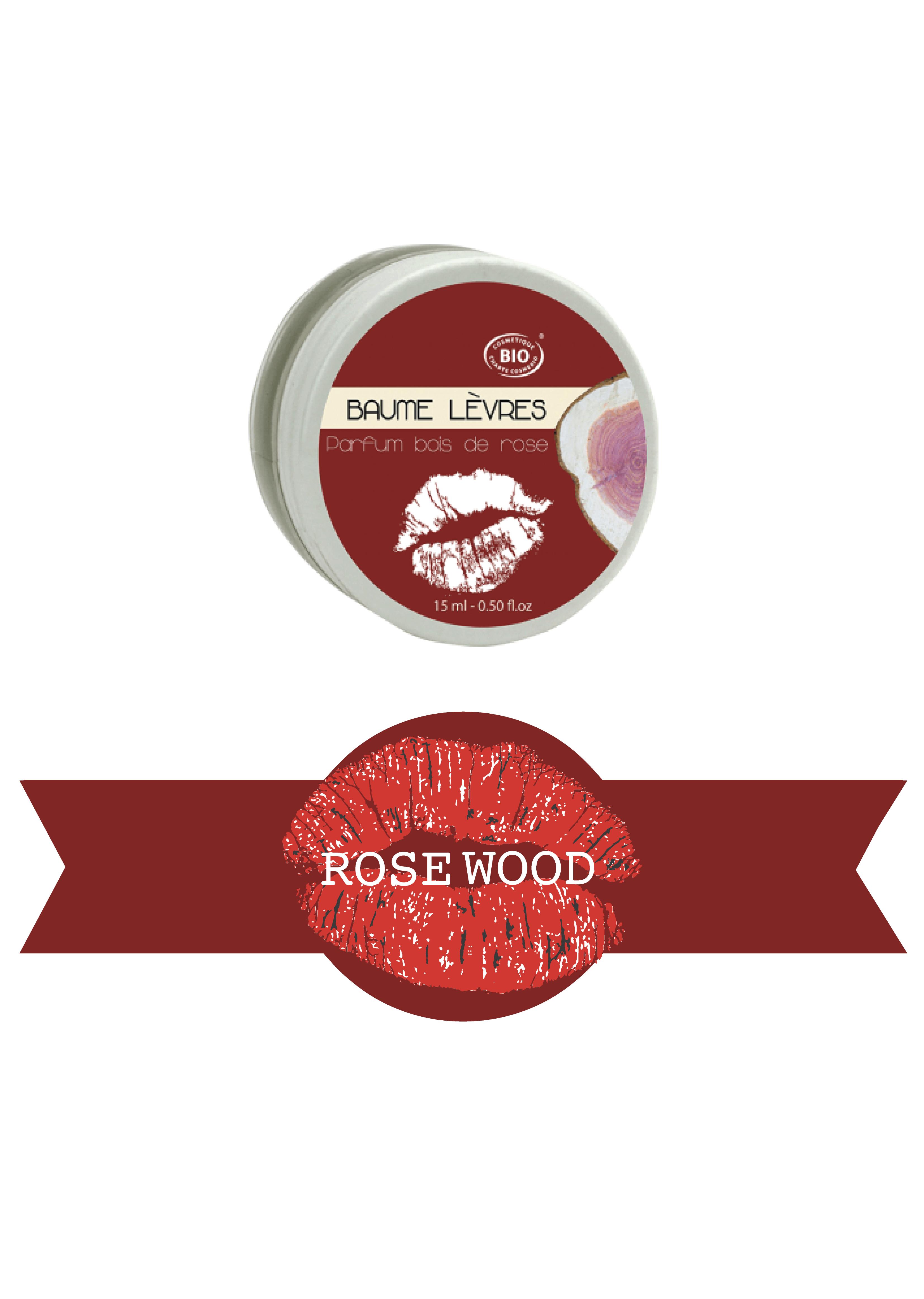 Rosewood lip balm